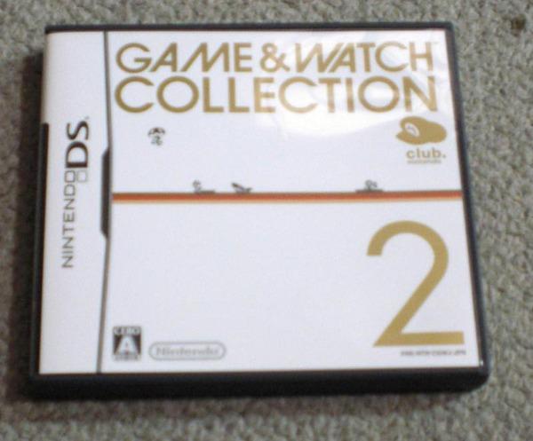 原作の2ゲームはDSじゃ無くても遊べるのでは?ゲーム&ウォッチコレクション2 レビュー