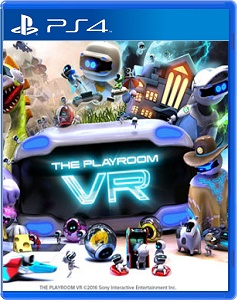 【レビュー】THE PLAYROOM VR [評価・感想] VRで遊ぶマリオパーティと3Dマリオのお試しパック!