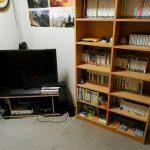 最強のゲーム部屋が完成!新しいテレビラックとスピーカーを購入して夢のワンダーランドに!