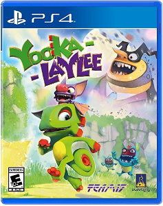 Yooka-Laylee(ユーカレイリー)【レビュー・評価】絶滅危惧種のアイテム収集型3Dアクションゲームがここに復活!