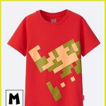 ユニクロ×任天堂のコラボTシャツを買ってきたのでさっそく着替えてみた