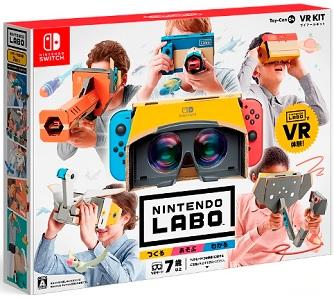 【レビュー】ニンテンドーラボ VRキット [評価・感想] アクション×探索×対戦×クリエイト!なんでもござれの任天堂流VRゲームパック!
