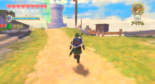 レビュー ゼルダの伝説 スカイウォードソード 評価 感想 Wiiの最後と25周年を飾った名作 Kentworld For ゲームレビュー